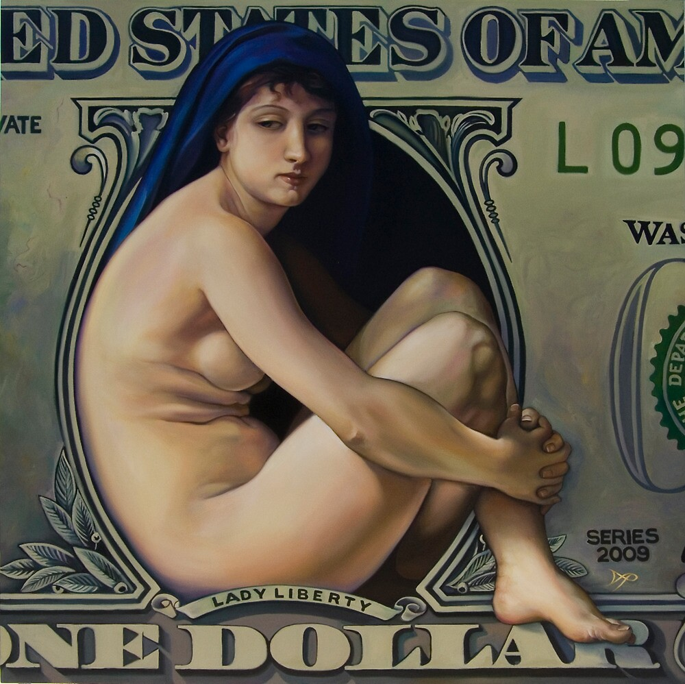 The Rape of Lady Liberty by Patrick Pierson