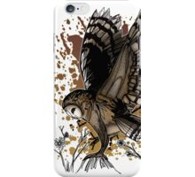 Barn Owl Stance iPhone Case/Skin