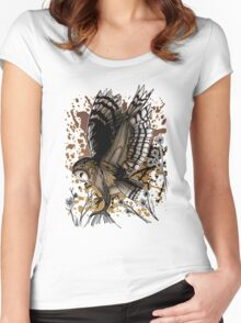 Barn Owl Stance Women's Fitted Scoop T-Shirt