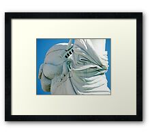 Statue of Liberty from a different angle Framed Print