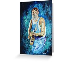Seasick Steve Greeting Card