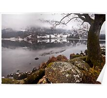 Winter at Rydal water Poster