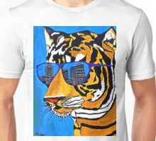 Cool Tiger in Sun Shades  Unisex T-Shirt