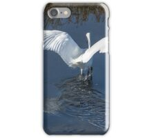 Flying Angel - Snowy Egret iPhone Case/Skin