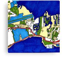 Georgetown, Cayman Islands Canvas Print