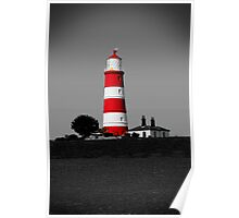 Happisburgh Lighthouse, Norfolk, UK Poster