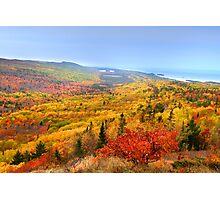 Beautiful autumn landscape Photographic Print