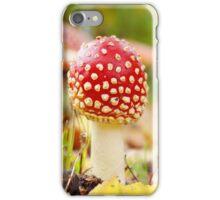 Toadstool mushroom iPhone Case/Skin