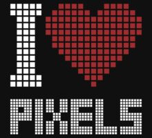I love pixels Kids Clothes