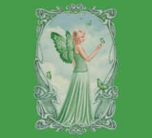 Peridot Birthstone Fairy Kids Clothes