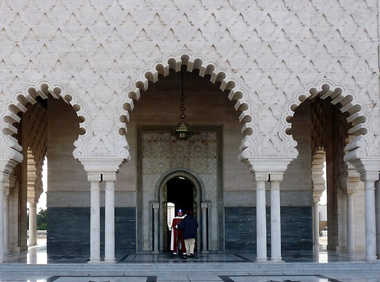Mausoleum of Mohammed V  by Lucinda Walter