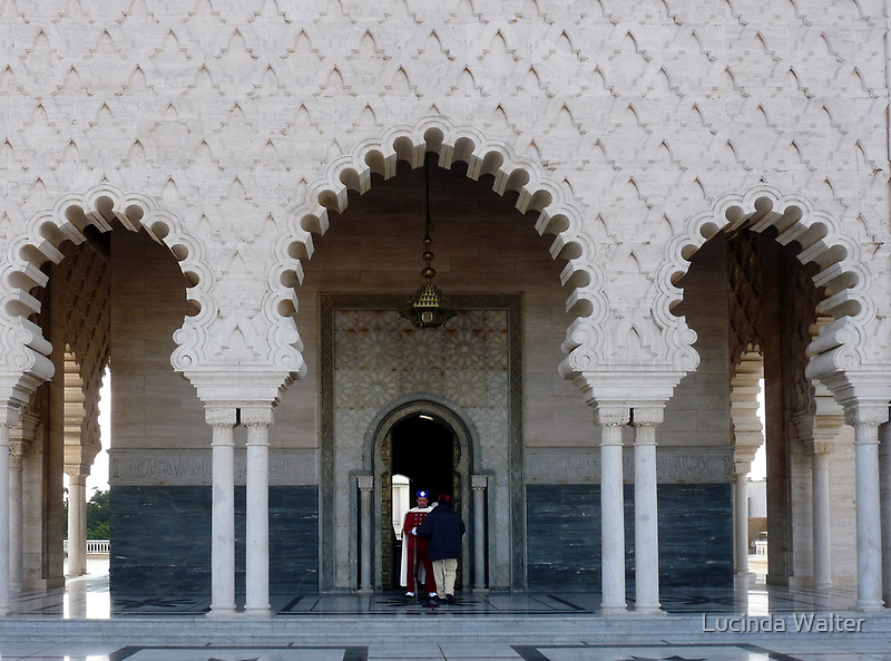 Mausoleum of Mohammed V  by Lucinda Walter