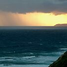 Sunset Rain, Cape Otway,Great Ocean Road by Joe Mortelliti