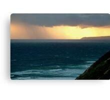 Sunset Rain, Cape Otway,Great Ocean Road Canvas Print