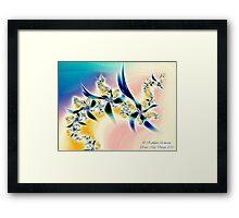 Flight to Freedom Framed Print