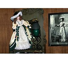 Antiques and Collectibles ~ Doll Photographic Print