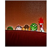 It Was Thanksgiving And They Were All There Photographic Print