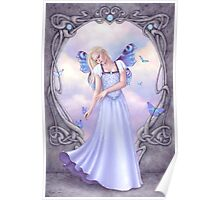 Opal Birthstone Fairy Poster