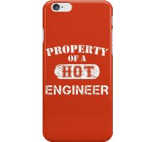 Property Of A Hot Engineer - Unisex T shirt iPhone Case/Skin