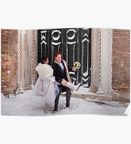 Venice Wedding Poster
