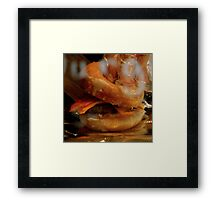 Doughnut Burger Anyone ??? ~ Part Two Framed Print