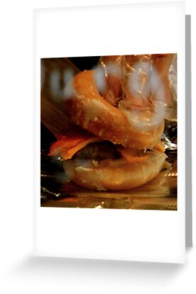 Doughnut Burger Anyone ??? ~ Part Two by artisandelimage