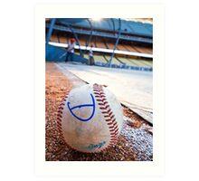 Base Ball Art Print