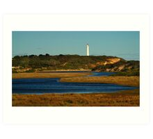 Split Point Lighouse,Great Ocean Road. Art Print