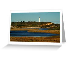Split Point Lighouse,Great Ocean Road. Greeting Card