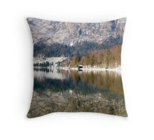 Reflections of Slovenia Throw Pillow