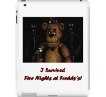 Five Nights at Freddy's: I Survived! iPad Case/Skin