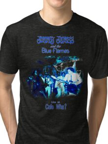 Jimmy James and the Blue Flames Jimi Hendrix Tri-blend T-Shirt