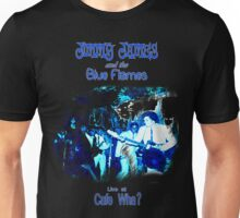Jimmy James and the Blue Flames Jimi Hendrix Unisex T-Shirt