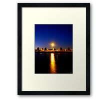 A Lone Light Can Shine Brightest Framed Print