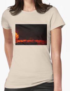 Magic Mist Womens Fitted T-Shirt