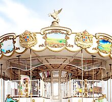 White Carousel by the-novice