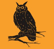 Eagle Owl ~ T Shirt Edition by Samantha Creary