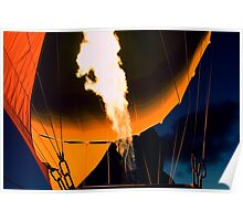 Melbourne hot air ballooning 1 Poster