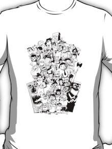 3D Movie Maker Actors (No Text) T-Shirt