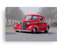 1938 Chevrolet 'Cocktail Cherry' Coupe Canvas Print