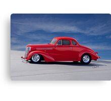 1938 Chevrolet Coupe 'Profile' Canvas Print