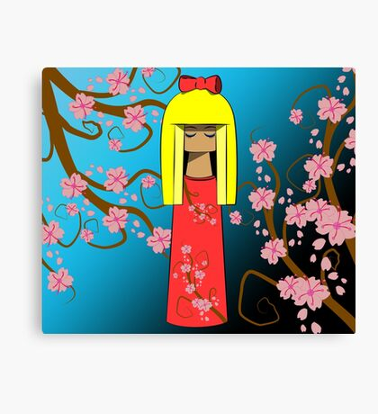 Red Doll 2.0 Canvas Print