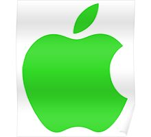 Apple Green iPhone Poster
