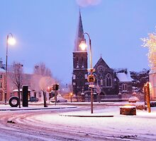 Listowel During the Snow  by Paul Woods