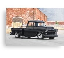 1955 Chevrolet Pickup Truck Canvas Print
