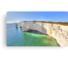 Old Harry Rocks II Canvas Print