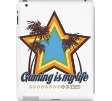 Gaming is my life iPad Case/Skin