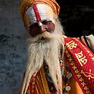 Nepalese Holy Man by Mark Poulton
