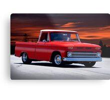 1965 Chevrolet C10 Pickup Truck Metal Print
