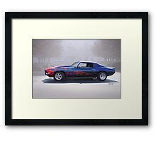 1970 Chevrolet 'Street Machine' Camaro Framed Print